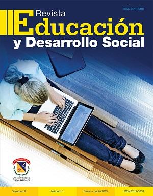 Revista Educación y Desarrollo Social 2015-1