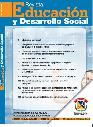Revista Educación y Desarrollo Social Vol. 9-2
